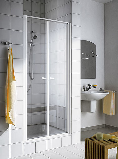 Kermi shower enclosure - Ibiza 2000 - Two part hinged doors