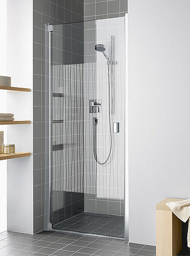KermiEXTRA - Raya shower enclosure with Line decor