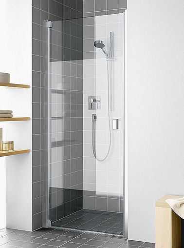 KermiEXTRA - Raya shower enclosure with Stripe decor