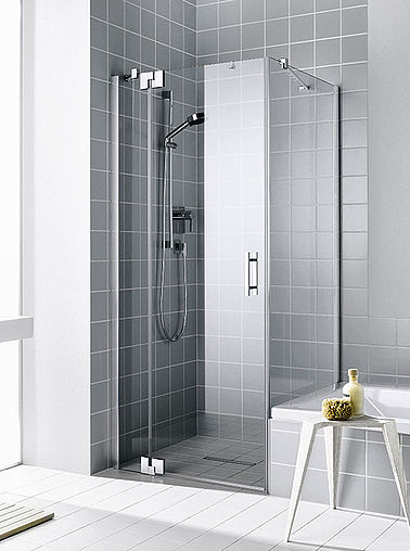 Kermi shower enclosure - Filia XP - Two part hinged door and side panel