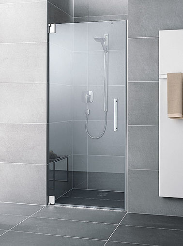 Kermi shower enclosure - Pasa - Two part hinged door in recess