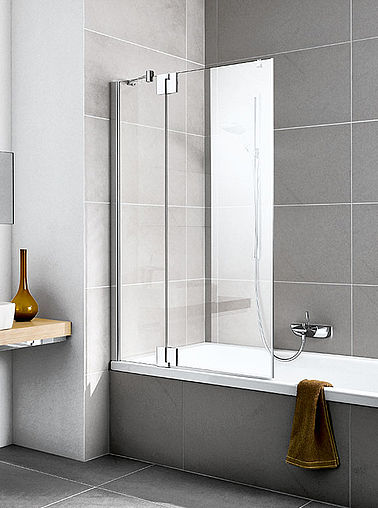 Kermi folding bath screen - Pasa XP