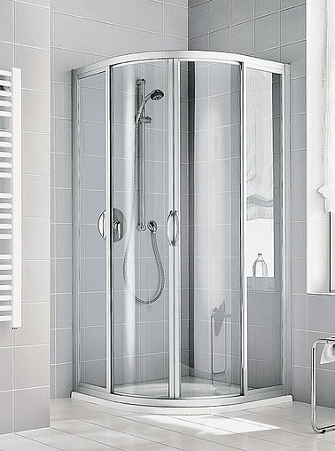 Kermi shower enclosure - Ibiza 2000 - Quadrant shower enclosure
