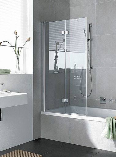 Kermi folding bath screen - Diga