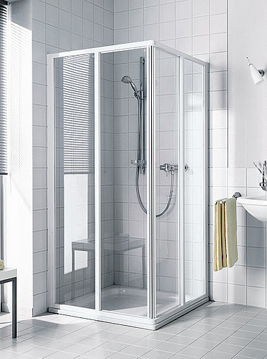 Kermi shower enclosure - Ibiza 2000 - Sliding and folding door