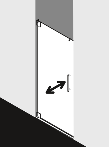 Kermi shower enclosure - Pasa PA 1TO