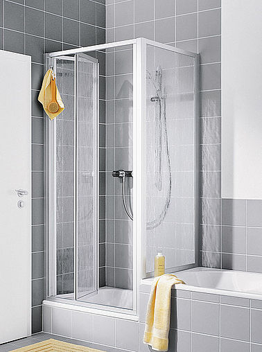 Kermi shower enclosure - Nova 2000 - Folding door