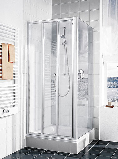Kermi shower enclosure - Ibiza 2000 - Folding door with side panel
