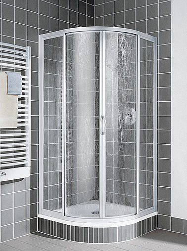 Kermi shower enclosure - Nova 2000 - Quadrant shower enclosure
