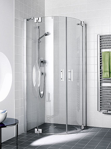 Kermi shower enclosure - Filia XP - Quadrant shower enclosure