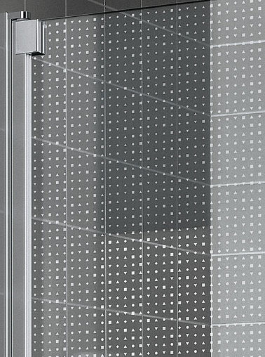 KermiEXTRA - Raya shower enclosure with Light decor - Detailed picture