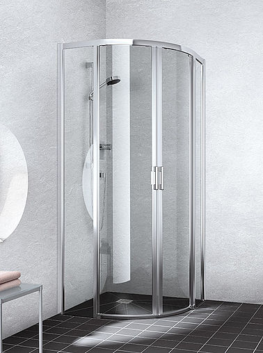 Kermi shower enclosure - Liga - Quadrant shower enclosure