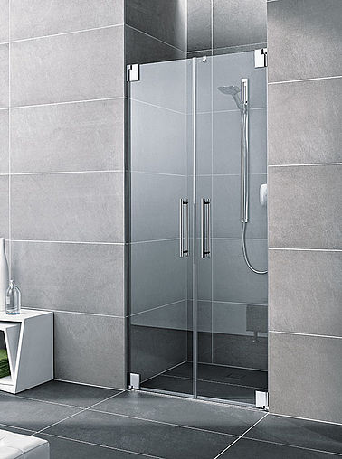 Kermi shower enclosure - Pasa - Two part hinged doors in recess