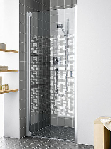 KermiEXTRA - Raya shower enclosure with Arte decor