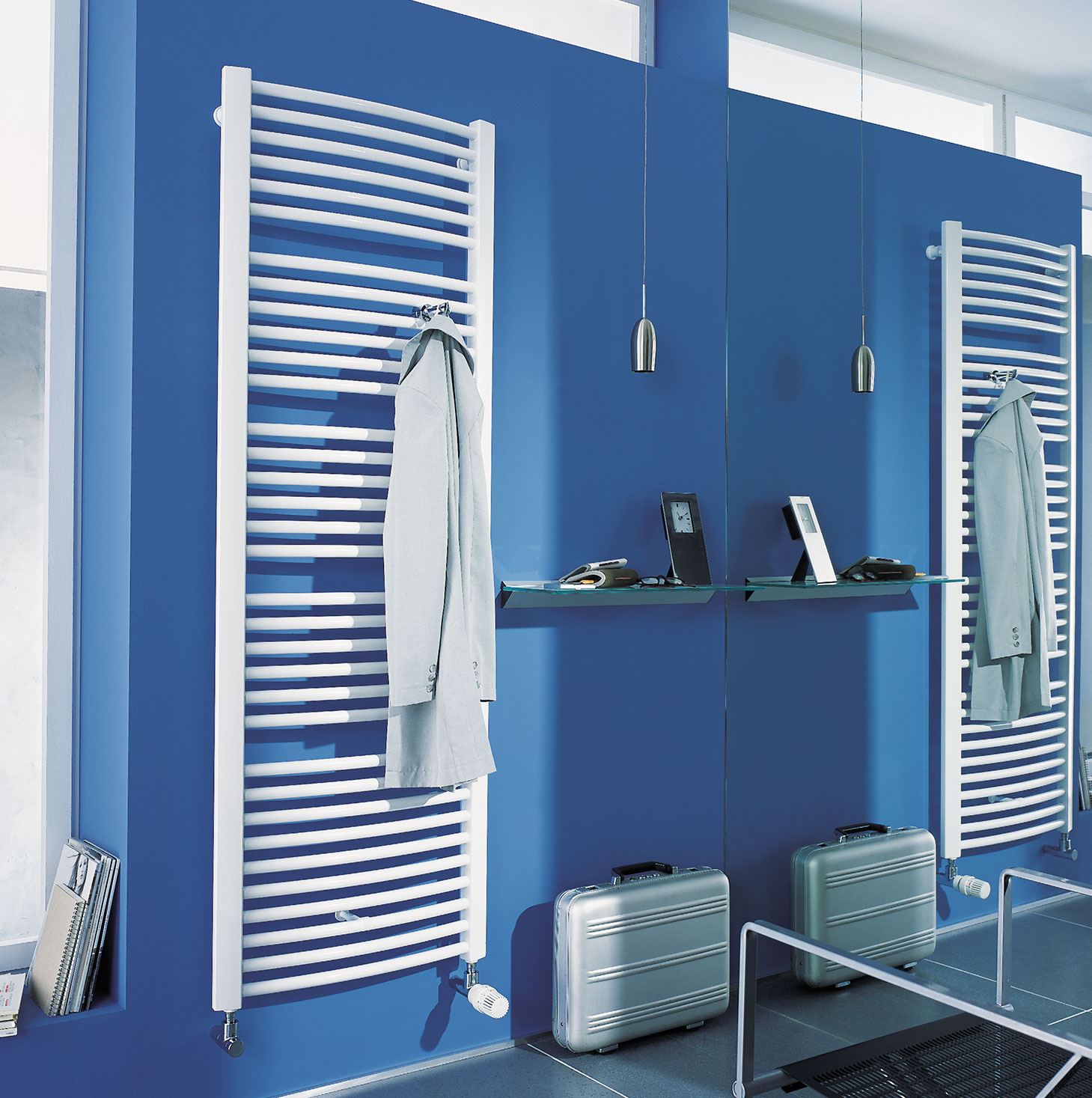 Example of a Kermi bathroom and design radiator