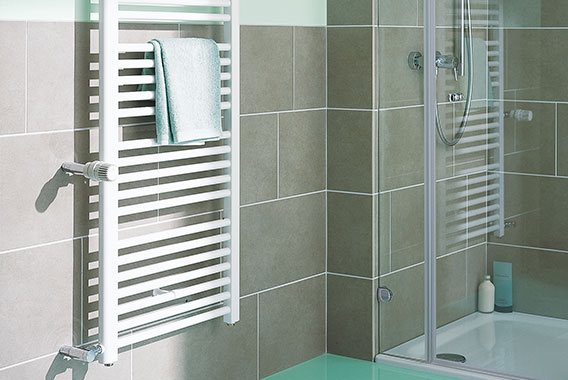 Kermi Basic-D bathroom replacement radiator