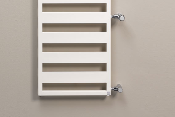 Kermi Casteo-D design and bathroom radiator - the fast replacement solution for renovation projects