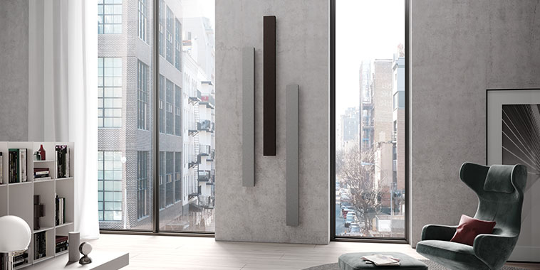Kermi design radiators Decor-Arte Plan – three individual components for exciting accents in the living space