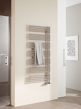 Kermi Diveo design and bathroom radiators - functionality and comfort rolled into one