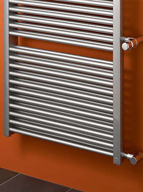 Kermi Duett-D design and bathroom radiator as replacement radiator