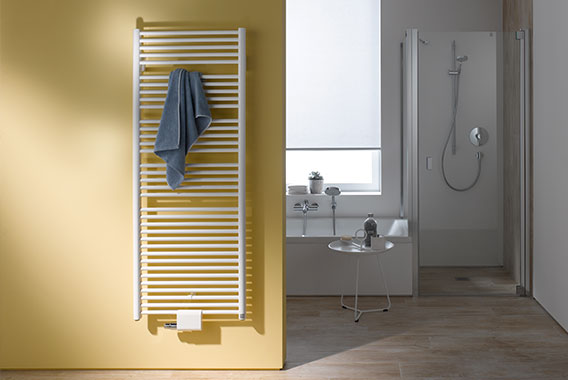 Kermi Geneo circle design and bathroom radiator - perfect all round in terms of form, price and performance