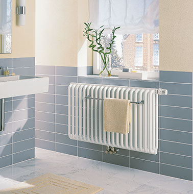 Kermi design and bathroom radiators Kermi Decor suited for electric operation