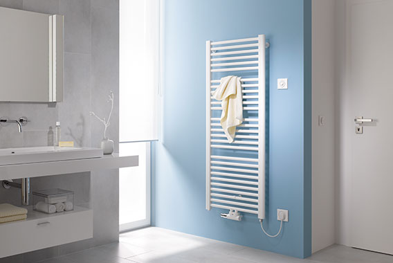 Kermi bath and design radiators with additional electric operation
