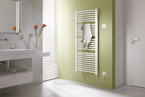 Kermi bath and design radiators with all-electric operation