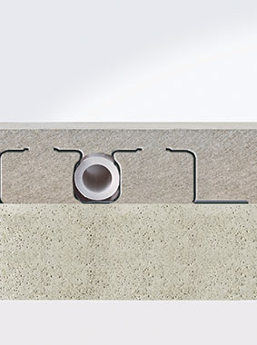 Kermi x-net C15: special construction of knob element lends enduring stability