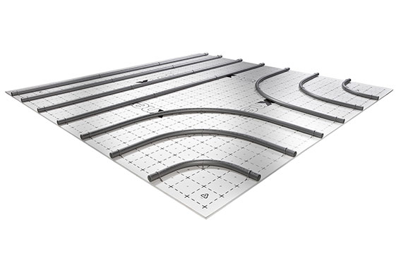 Kermi x-net C16 clip system: unique underfloor heating.