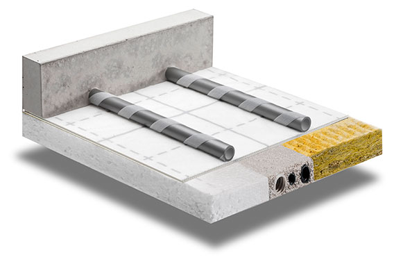 x-net C17 klett panel – underfloor heating by Kermi