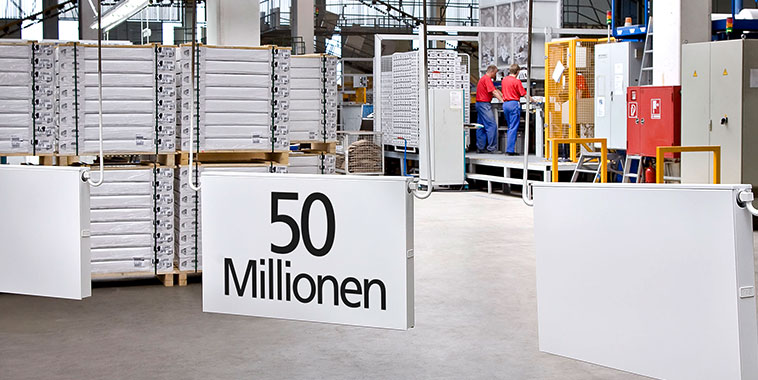 50 million Kermi radiators sold