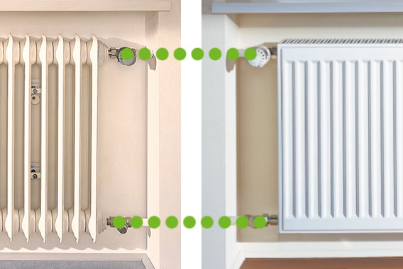 therm-x2 Profil-K replacement radiator for an uncomplicated renovation