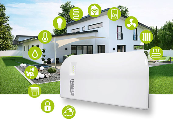 Kermi Smart Home with x-center base