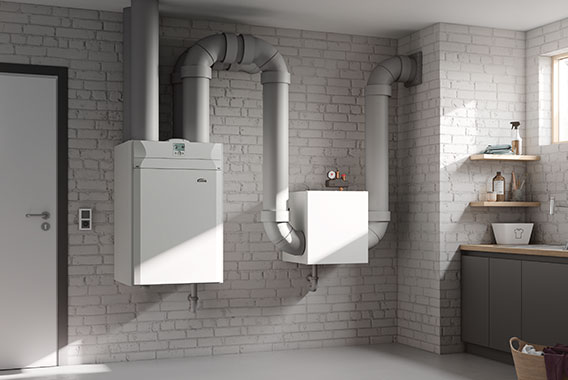Kermi x-well S370 residential ventilation