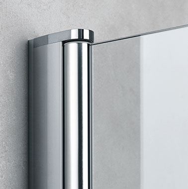 Kermi shower enclosures - Diga - Detailed picture: wall profile