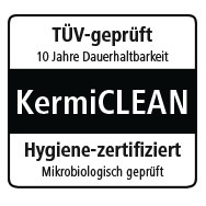 Kermi glass - Kermi Clean coating