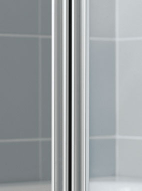 Kermi shower enclosure - Ibiza 2000 - Detailed picture: wall profile