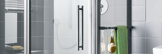 KermiEXTRA - Atea shower enclosure with Pasa XP handles