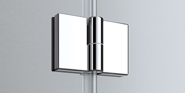 Kermi shower enclosure - Liga - Detailed picture of fitting