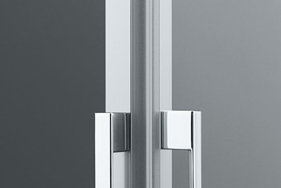 Kermi shower enclosure - Liga - Detailed picture: Handles