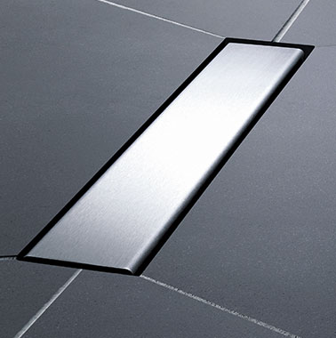 Kermi wet floor system Line - Detailed picture