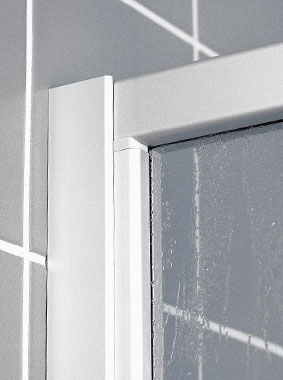 Kermi shower enclosure - Nova 2000 - Detailed picture: wall profile