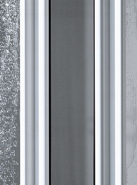 Kermi shower enclosure - Nova 2000 - detailed picture: profile