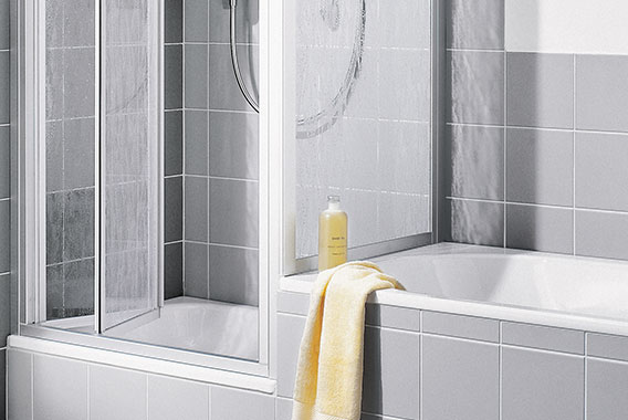 Kermi shower enclosure - Nova 2000 - Folding door - Detailed picture