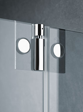 Kermi shower enclosure - Pasa - Detailed picture: fittings (internal)