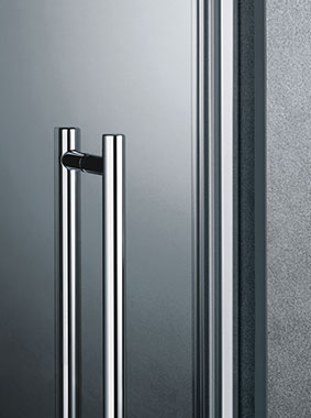 Kermi shower enclosure - Pasa - Detailed picture: handles