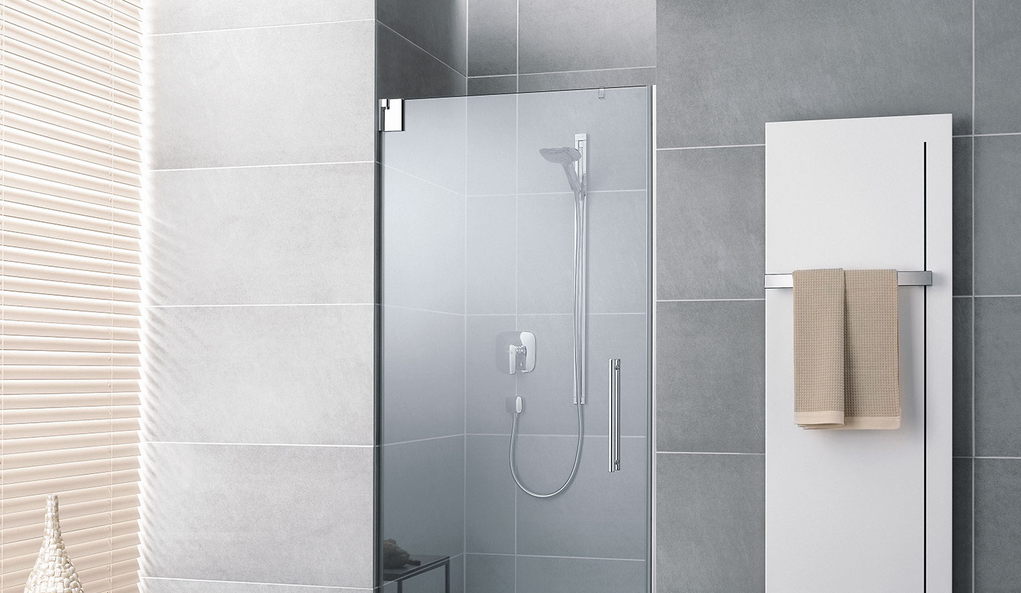Kermi shower enclosure Pasa