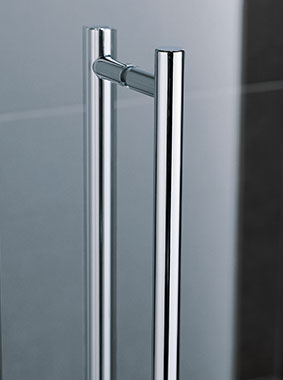 Kermi shower enclosure - Pasa XP - Detailed picture: handles