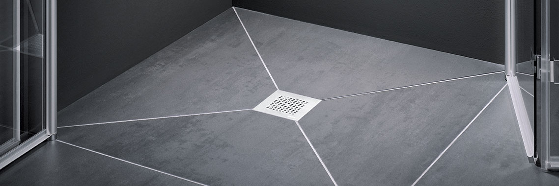 Kermi wet floor system Point - Detailed picture